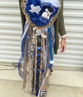 Burlap Homecoming Mum