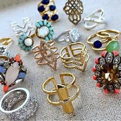 Make a statement with a fun ring!