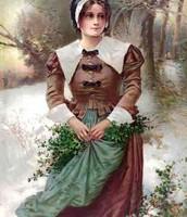 Traditional Puritan Woman
