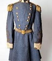 Conferdate military uniform-