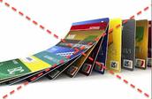 la tarjeta de credito