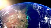 The Great Barrier Reef on Outer Space