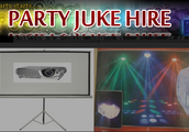 Party Hire Caboolture competitive prices digital jukeboxes