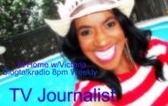 TV Journalist Victoria Gaither