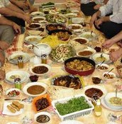 A Traditional Iftar