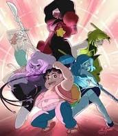 my favorite cartoon is steven universe