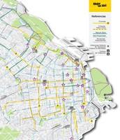 La Mapa de Las Ciclovias