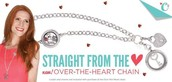 NEW! Over the Heart Chain