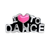 I Love to Dance Charm