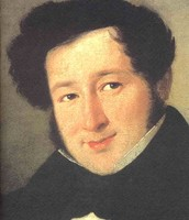 Portrait of Rossini as a young man