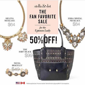 50% off!  For the Uptown Lady