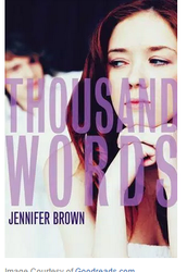 Book of the Month: Thousand Words by Jennifer Brown