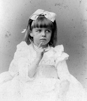 Eleanor Roosevelt as a young girl