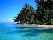 Beaches in Sumatra