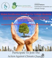Are you interested in Social work and environmental awareness and be certified for it by the UN FCC and ICCE ? ( supported by NASA and The world Bank and has been authorized by the Govt. of India)