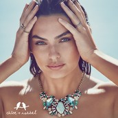 Aquamarina Statement necklace