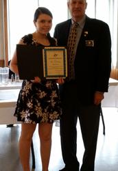 Kendra Adams honored again!