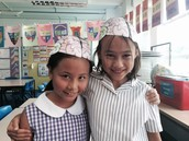Making 'Brain Hats' in 5S