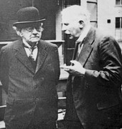 J.J. Thompson and Ernest Rutherford