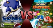 Sonic Boom: Rise of Lyric and Shattered Crystal VS. Sonic the Hedgehog 2006