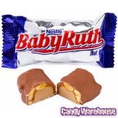 A candy bar was named after the legend