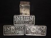 A picture of what indium is used in
