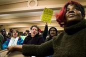 Public Outcry at City Council Meeting