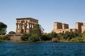 Temple Near the Nile River