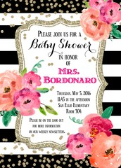 Mrs. Bordonaro's Baby Shower