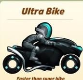 how to get the Ultra Bike in Bike Race