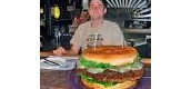 The Family Jumbo burger