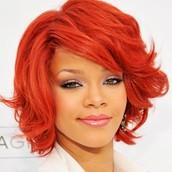 Rihanna inspired me a lot.