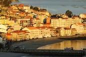 Coastal town in Galicia