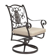 San Cristobal Swivel Dining Chair