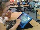De leerling bekijkt een KOZK filmpje