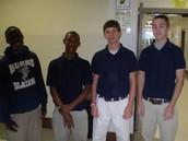 Boys uniform look