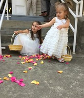 Brian's Nieces at his recent wedding