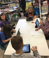 math on the ipads!
