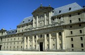 Front View of El Escorial