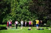 Predstavitev joge in vadba