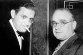 David O. Selznick (left) and Myron Selznick (right)