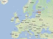 Estonias location