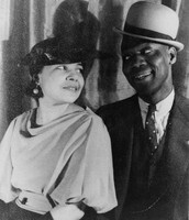 Bill Bojangles Robinson and his Wife.