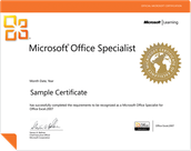 Students Can Obtain Microsoft Office Specialist Certification