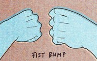 Fist bump Friends