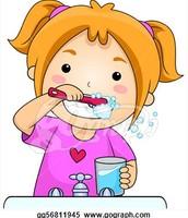 Putz dir die Zähne