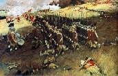 Soilders marching