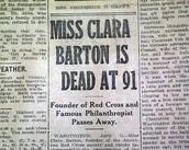 The death of Clara