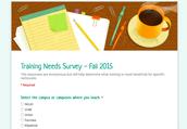Magnet Campus Training Needs Survey