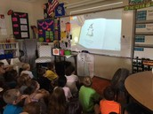Peter Reynolds, the author of The Dot, read the book to us!